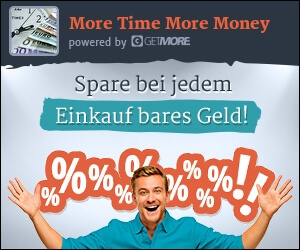 GetMore – Erhalte bei jedem Einkauf Geld zurück und verdiene zusätzlich mit Empfehlungen. Millionen Produkte bei über 2.000 Dienstleistern & Onlineshops. Jetzt kostenlos anmelden
